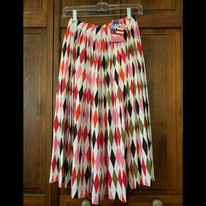 Pin Up Girl Clothing 1960s Harlequin Jenny Skirt